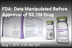 FDA: Data Manipulated Before Approval of $2.1M Drug
