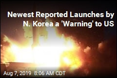 Newest Reported Launches by N. Korea a 'Warning' to US