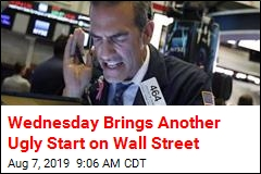 Wednesday Brings Another Ugly Start on Wall Street