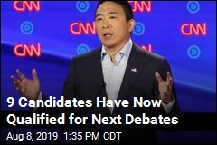 Andrew Yang Is 9th Candidate to Make Next Debates
