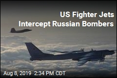 US Fighter Jets Intercept Russian Bombers