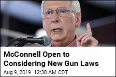 McConnell Won't Bring Senate Back Early for Gun Debate