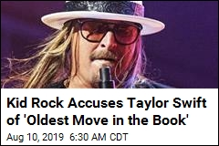 Kid Rock Goes After Taylor Swift in Crass Political Tweet