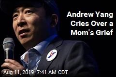 Grieving Mom Puts Andrew Yang in Tears