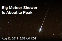 Stay Up Later to Catch Meteor Shower