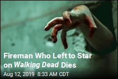Fireman Who Left to Star on Walking Dead Dies