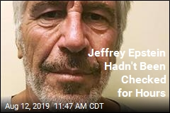 Jeffrey Epstein Hadn't Been Checked for Hours