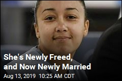 She's Newly Freed, and Now Newly Married