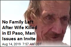 His Wife Was Killed in El Paso. Everyone's Invited to Her Funeral