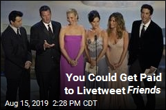 You Could Get Paid to Livetweet Friends