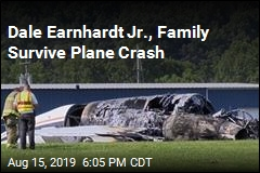 Dale Earnhardt Jr., Family Survive Plane Crash