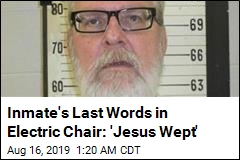 Tennessee Executes Inmate by Electric Chair