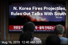 N. Korea Fires Projectiles, Rules Out Talks With South