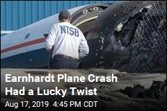 Earnhardt's Plane Bounced Onto a Highway: NTSB