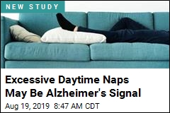 Excessive Daytime Naps May Be Alzheimer's Signal