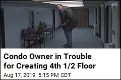 Condo Owner in Trouble for Creating 4th 1/2 Floor