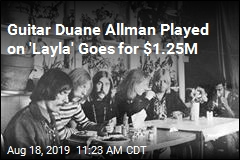 Duane Allman's 'Layla' Guitar Brings $1.25M at Auction