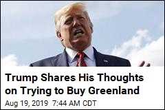 Trump Confirms the Idea of Buying Greenland 'Came Up'