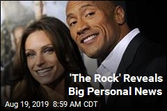 'The Rock' Reveals Big Personal News