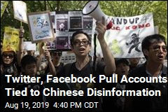 Facebook, Twitter Say China Used Sites Against Protesters