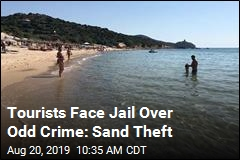 Tourists Face Jail Over Odd Crime: Sand Theft