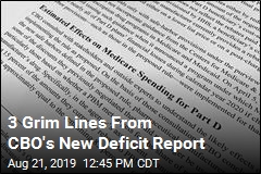 3 Grim Lines From CBO's New Deficit Report