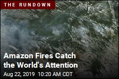 Amazon Fires Catch the World's Attention