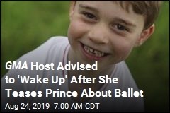 GMA Host Sorry for Teasing Prince George About Ballet Class