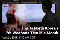 North Korea Fires Yet More Missiles