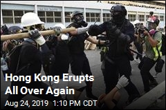 Hong Kong, Peaceful No More
