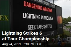Lightning Injures 6 at Tour Championship