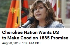 Cherokee Nation Wants Seat in Congress It Was Promised