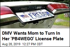 DMV Waging War Against 'PB4WEGO'