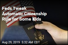 Feds: Kids of Some Overseas Service Members Will Not Get Automatic Citizenship