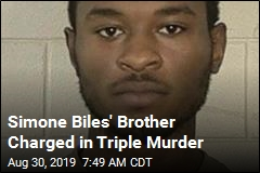 Simone Biles' Brother Charged in Triple Murder