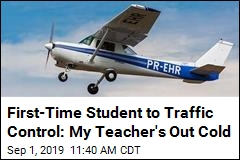 Flight Instructor Passes Out on First-Time Student