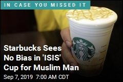 His Name Is Aziz. Starbucks Worker Wrote 'ISIS'