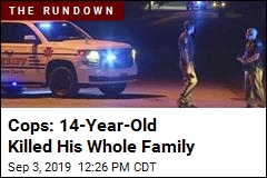 Cops: 14-Year-Old Kills His Family of 5