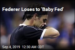 Federer Loses to 'Baby Fed'