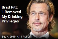 Brad Pitt Spent a Year and a Half in AA