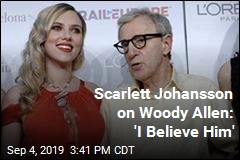 Scarlett Johansson Issues Firm Defense of Woody Allen