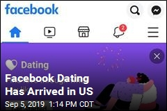 Facebook Dating Is Here