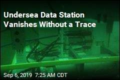 Underwater Data Station Mysteriously Vanishes