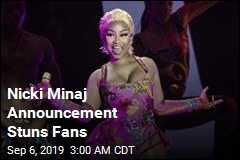 Nicki Minaj Abruptly Announces Retirement