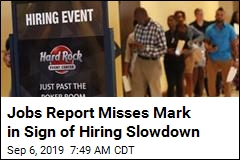 Job Numbers Not as Rosy as Hoped as Hiring Slows