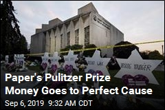 Paper's Pulitzer Prize Money Goes to Perfect Cause