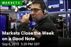 Markets Close the Week on a Good Note