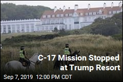 C-17 Mission Stopped at Trump Resort