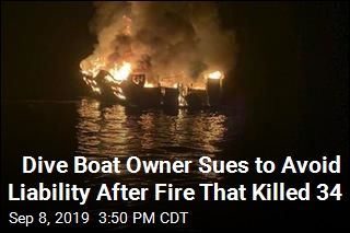 Dive Boat Owner Sues to Avoid Liability After Fire That Killed 34