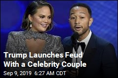 Trump Launches a Feud With Celebrity Couple